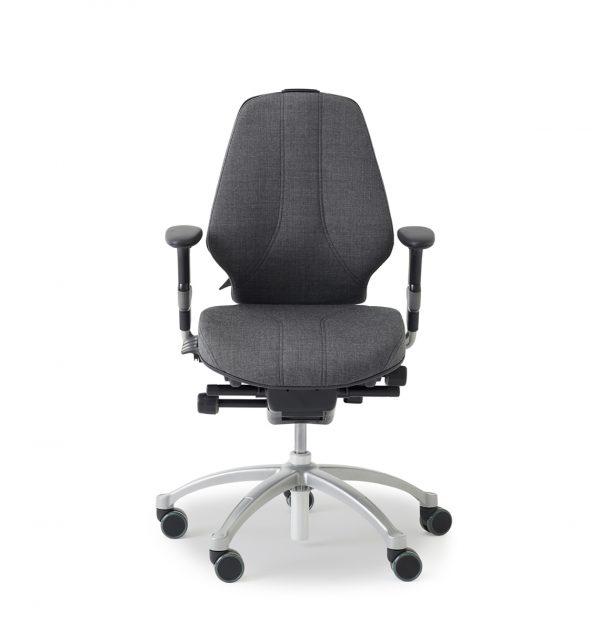 RH Logic 300 elegance ergonomic office chair with arm rests.