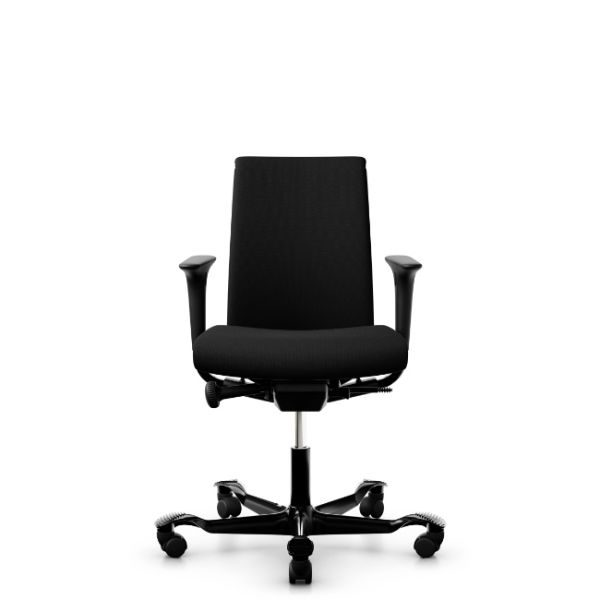 Hag Creed 6003 with height adjustable arms and black base.