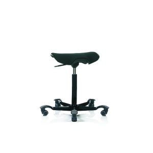 Hag Capisco Puls 8002 stool in black with black base