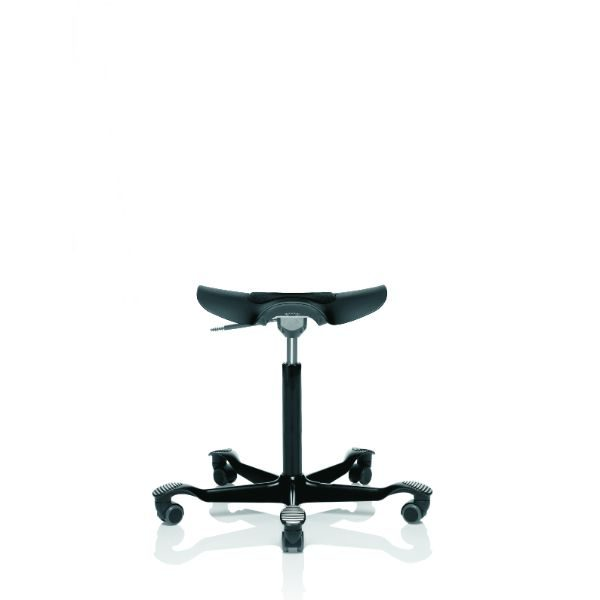 Hag Capisco puls 8001 ESD stool in black with black base