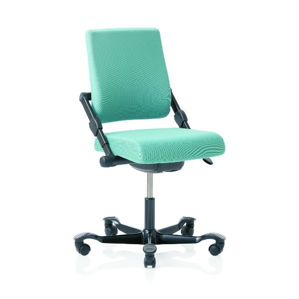 Hag H03 350 chair with no arms and black base.