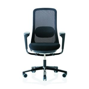 Sofi Mesh 7500 Chair in Black with arms