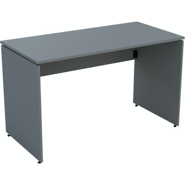 Ambus folding desk in dust grey mfc