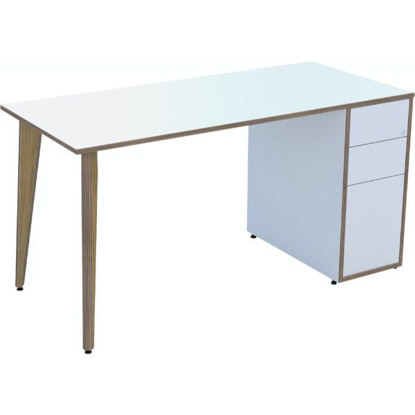 Ligni workstation in stock with white mfc