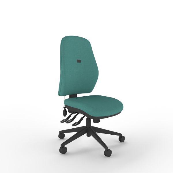 IT300 – Regular deluxe – Upholstered high back, medium seat + £98.00 (ex vat)